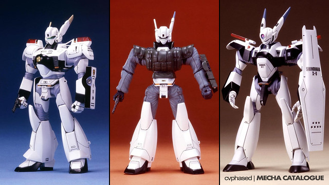 Bandai Reissues Patlabor Model Kits