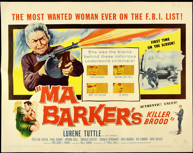 Ma Barker's Killer Brood (1960)