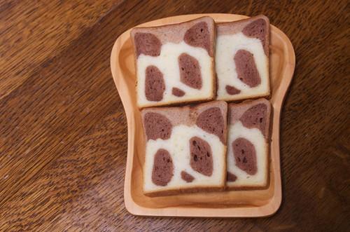アンデルセンのパンダ食パン