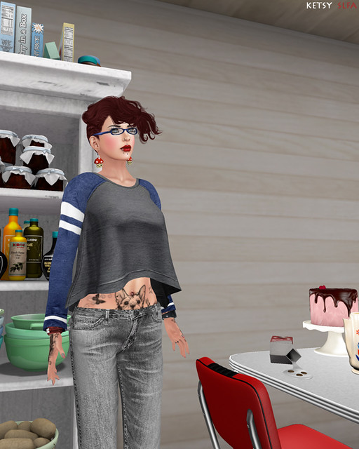 Someone's In The Kitchen - New Post @ Second Life Fashion Addict