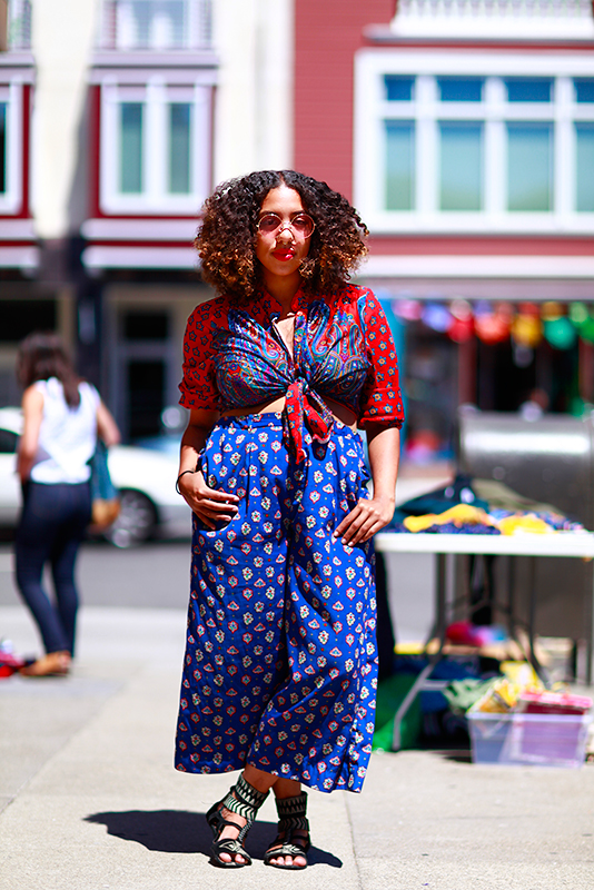 jazmin street style, street fashion, women, San Francisco, Quick Shots, 22nd Street