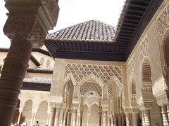 Nasrid Palaces - The Alhambra - Granada - The Palace of the Lions