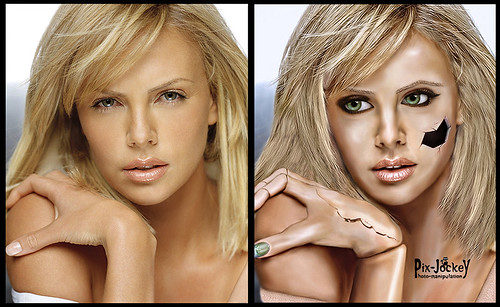 Charlize Doll BEFORE & AFTER