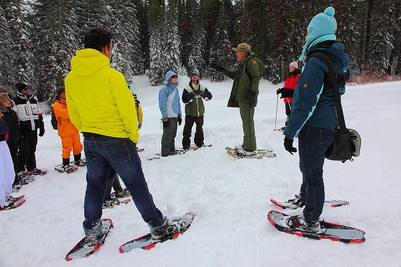 IMG_8342 Ranger-Led Snowshoe Walk