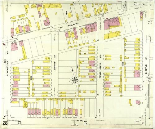Newstead & Clayton 1909 Sanborn