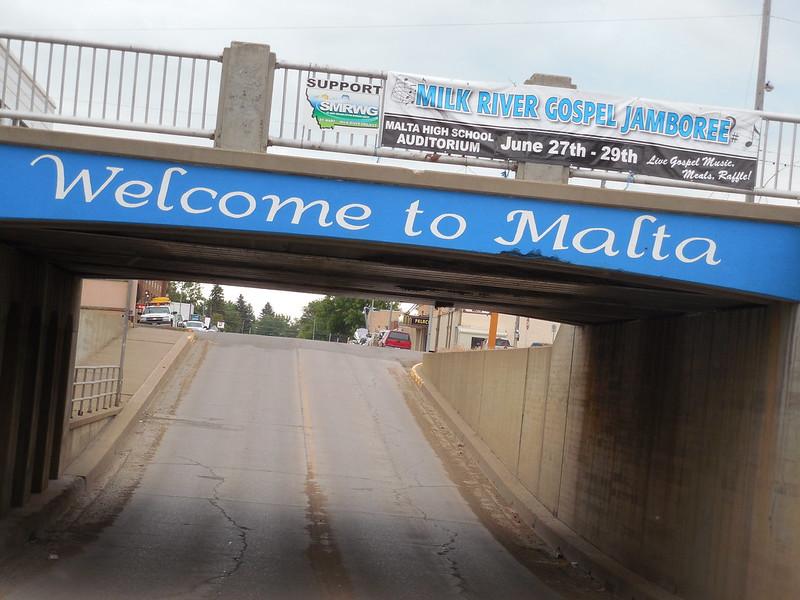 Welcome to Malta, Montana