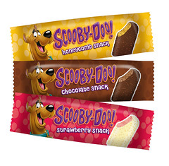 Beechdean Scooby-Doo ice cream snacks