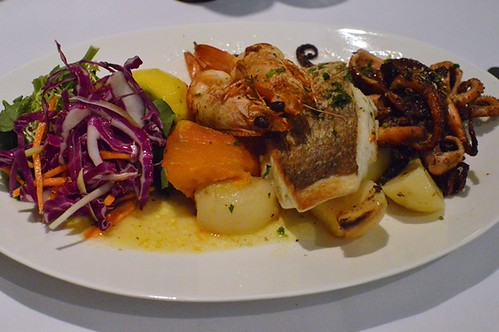 Athenian: Grilled trio seafood