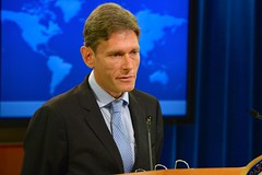 Assistant Secretary of State for Democracy, Human Rights and Labor Tom Malinowski delivers remarks at the Rollout of the 2013 Report on International Religious Freedom at the U.S. Department of State in Washington, D.C., on July 28, 2014. You can read the Assistant Secretary's remarks here: go.usa.gov/5eNJ. [State Department photo/ Public Domain]