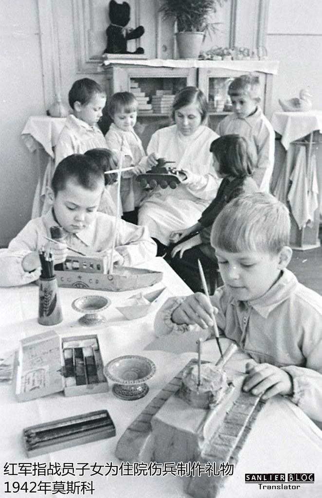 伟大卫国战争中的儿童35