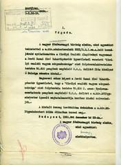 053. A magyar főudvarnagyi bíróság végzése pénzösszeg átutalásáról Zita királyné részére