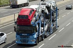 Scania P420 6x2 Car Transporter - J15 ECM - ECM - M1 J10 Luton - Steven Gray - IMG_3398