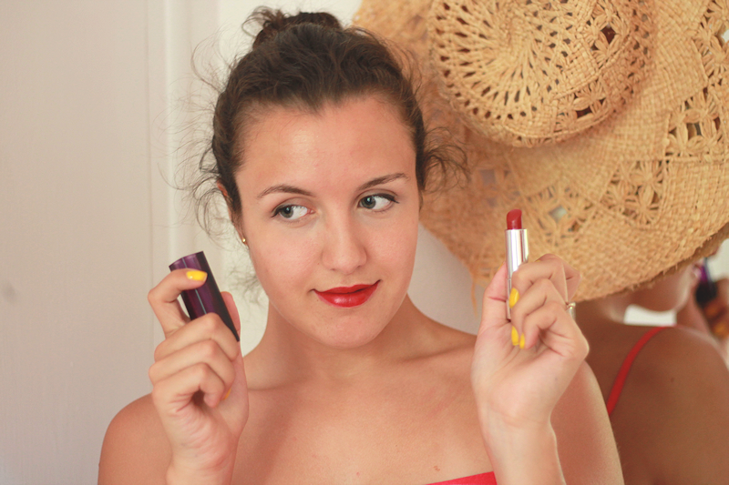 Rouge lips | Miss Ecl