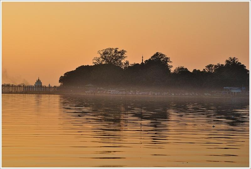 1湖西岸日落
