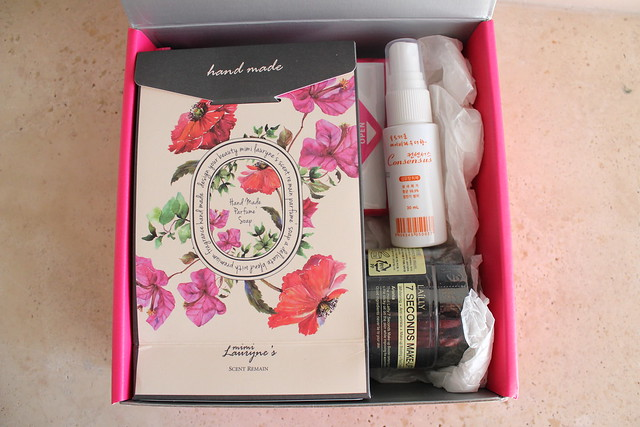 memebox scentbox baby powder review