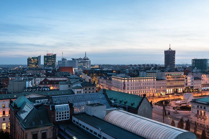 Poznan skyline