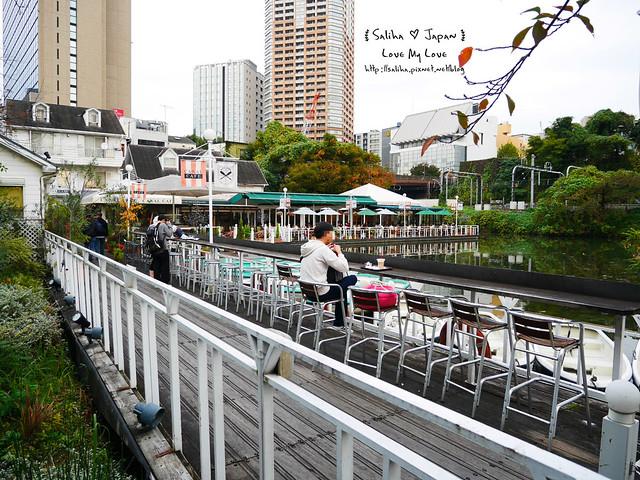 日本東京自由行賞櫻canal cafe水上餐廳 (6)