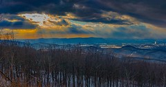 #snowday #sunrays   #loving the #overlook during this