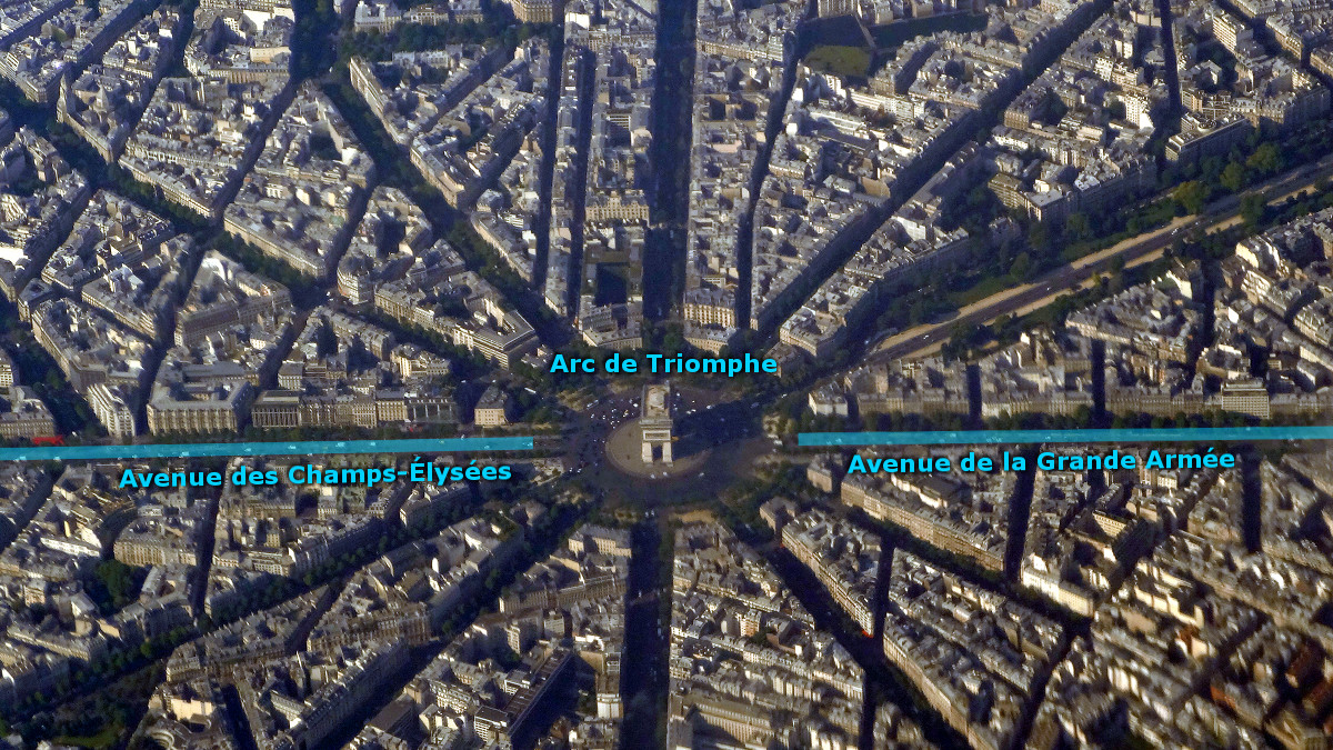 Arc de Triomphe de l'Étoile. Credit Hansueli Krapf