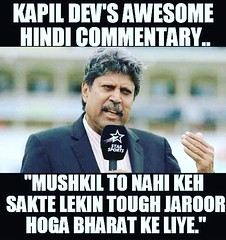 Kapil Dev awesome Hindi commentary.  #indvsaus #cricket #India #paytm #kapilpaaji #kapildev #hindi