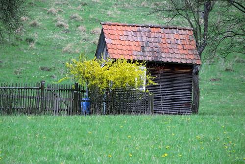 17201.Gartenhäuschen in der Pampa
