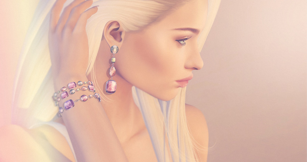 (Kunglers) Miele earrings and bracelet - AD - SecondLifeHub.com