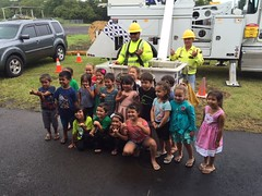 Hawaii Electric Light visits Kamehameha Schools Hilo Preschool - April 12, 2017: Mahalo for having us!