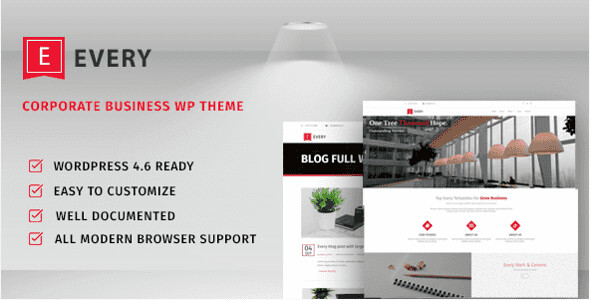 Every WordPress Theme free download