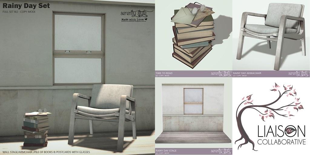 Serenity Style- Rainy Set for The Liaison Collaborative - SecondLifeHub.com