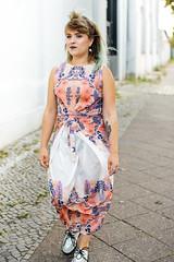 Kielo Dress in Poly Crepe de Chine