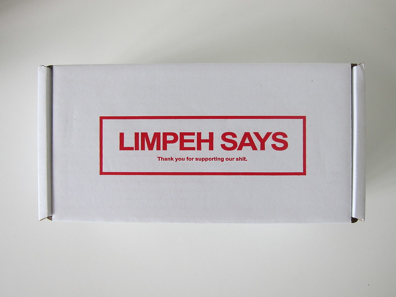 Limpeh Says - Packaging Box