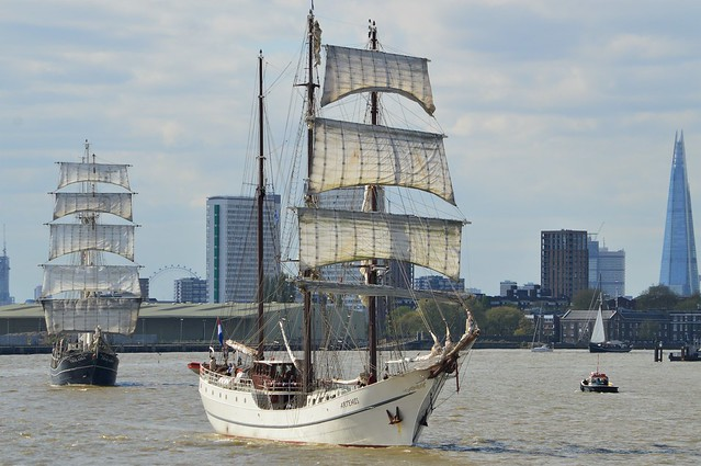 Tall Ship (14) @ River Thames 13-04-17