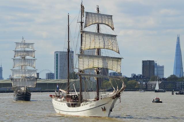 Tall Ship (14) @ River Thames 13-04-17