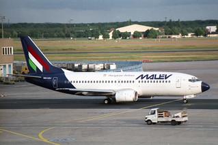 Malev - Hungarian Airlines Boeing 737-3Q8 HA-LEJ