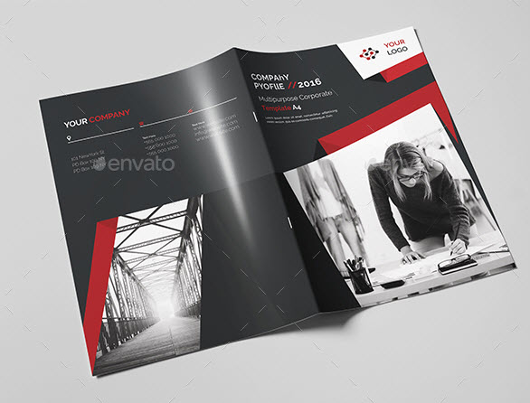 - Brochure Template PSD