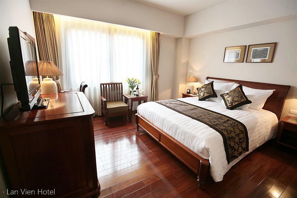 《河內飯店推薦》蘭比恩酒店 Lan Vien Hotel:星巴克相伴的四星級酒店,步行四分鐘抵達還劍湖。