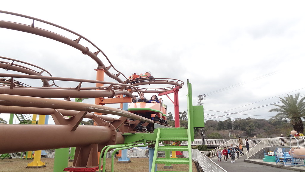 New Wild Mouse Coaster at Misaki Park / みさき公園