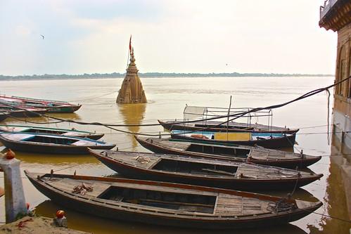 Varanasi flood 2013