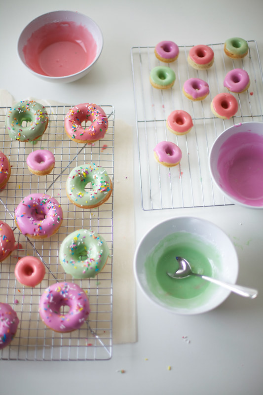 Pastel Glazed Doughnuts from Coco Cake Land
