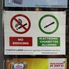NO SMOKING - ELECTRONIC CIGARETTES ALLOWED by Leo Reynolds