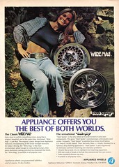1974 Appliance Wheels Advertisement Hot Rod February 1974