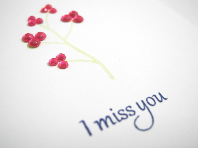 I Miss You (detail)