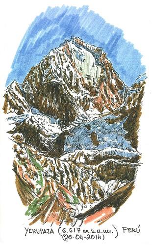 Yerupajá (6.617 m.s.n.m.)