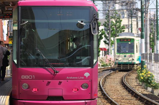Tokyo Train Story 都電荒川線 2014年5月10日