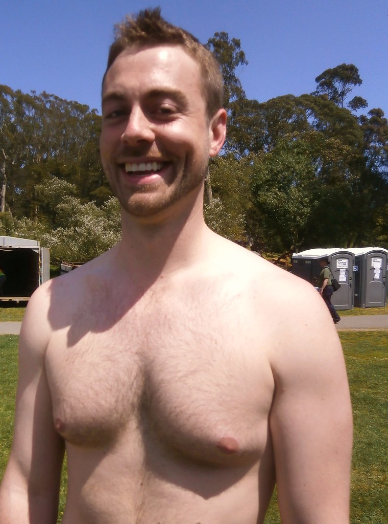 AWESOME SMILING HUNK at  the Sisters of Perpetual Indulgence 266