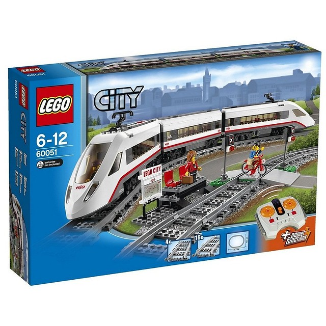 LEGO City 60051 - High-Speed Passenger Train