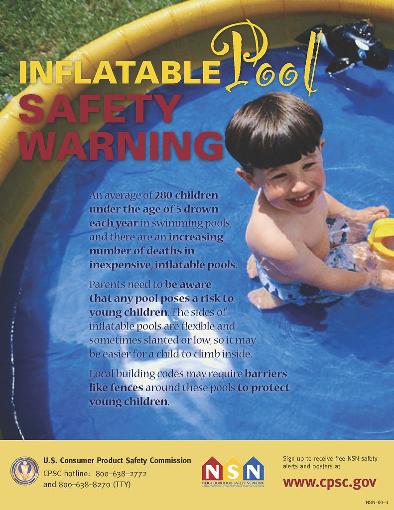 All pools pose a risk to young children