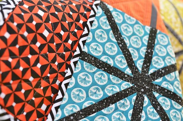 asterisk quilt binding