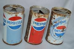 Vintage Beverage Cans