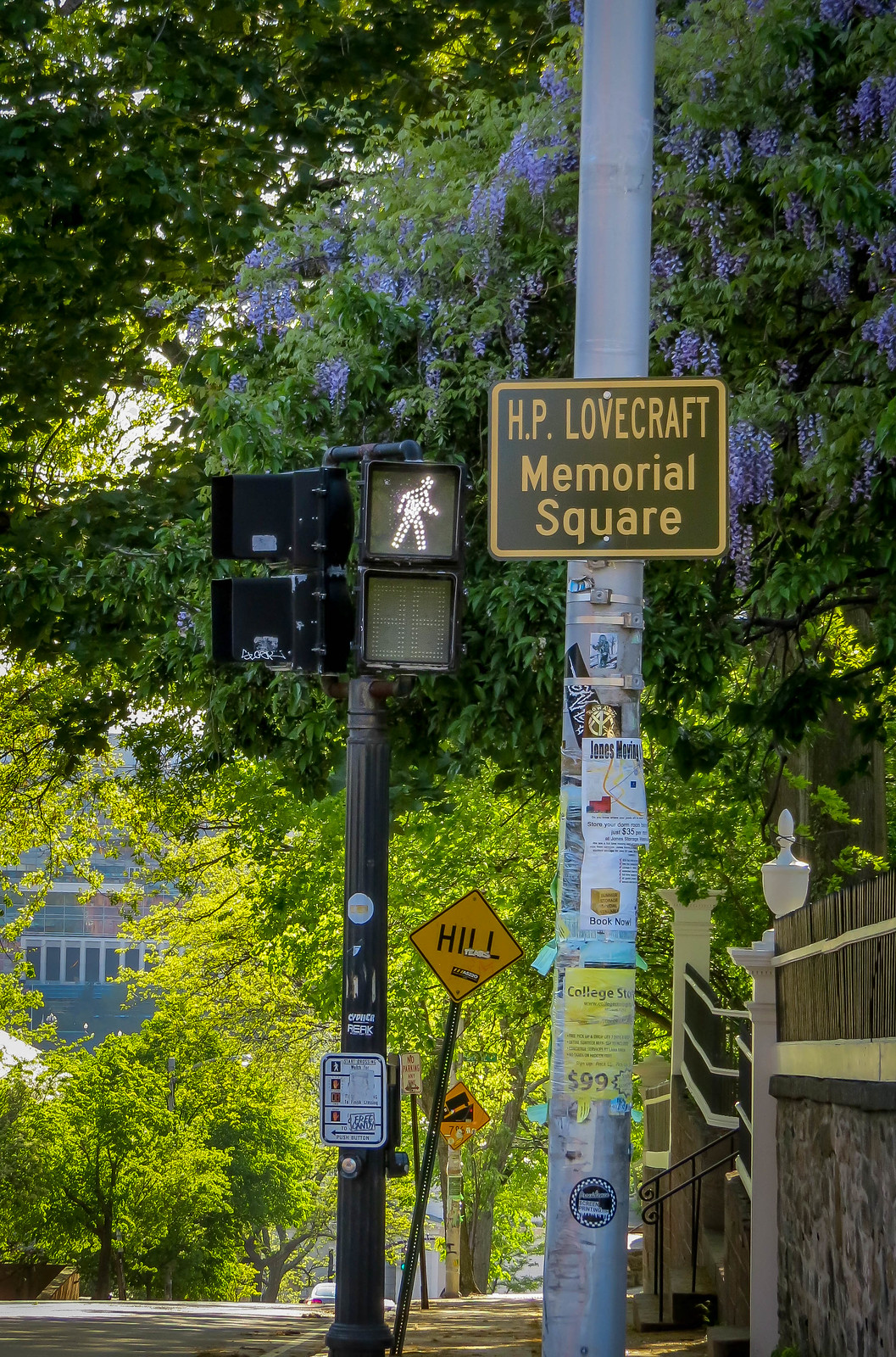 HP Lovecraft Square - Prospect & Angell